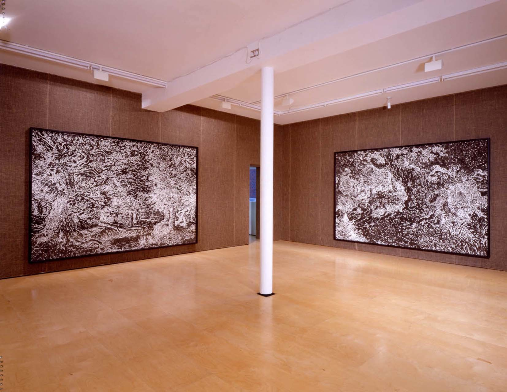 """<div class=""""artwork_caption""""><p>Installation View, 2002</p></div>"""