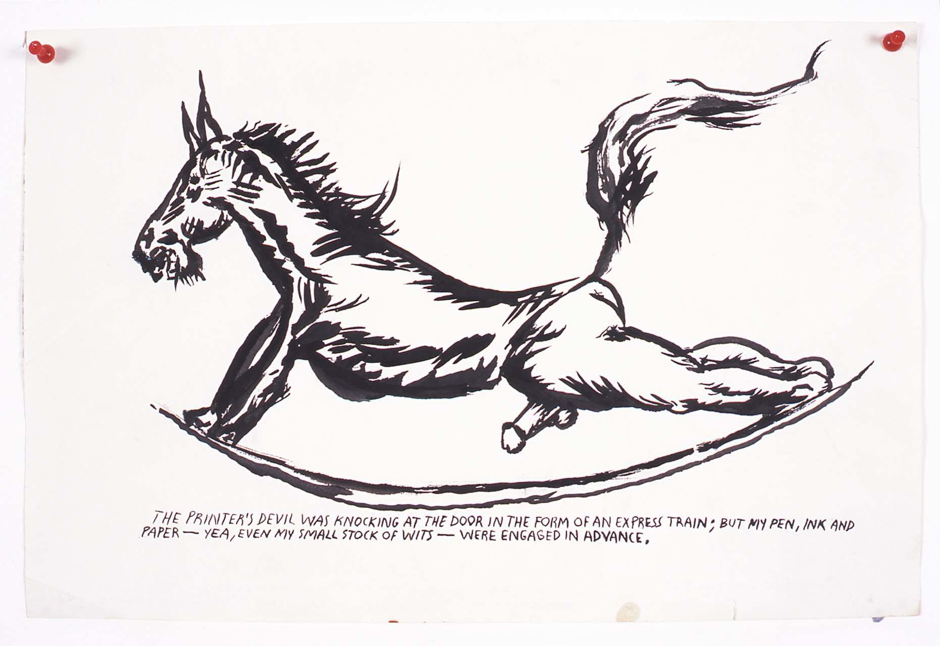 <p>No Title (The printer's devil), 2003</p>