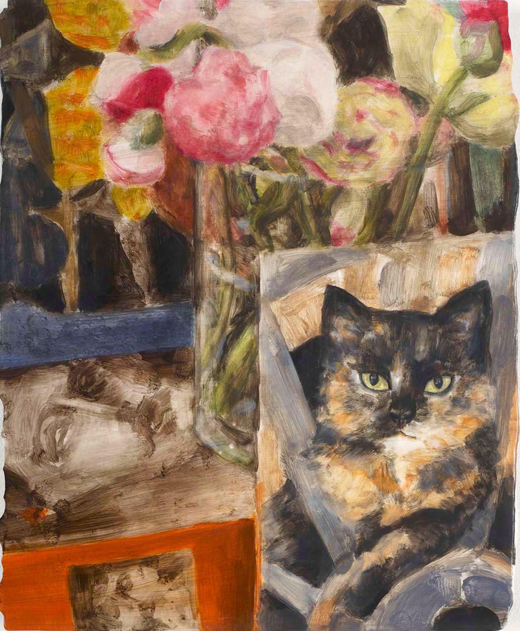 "<div class=""artwork_caption""><p>Cat (Cat Still Life), 2009</p></div>"