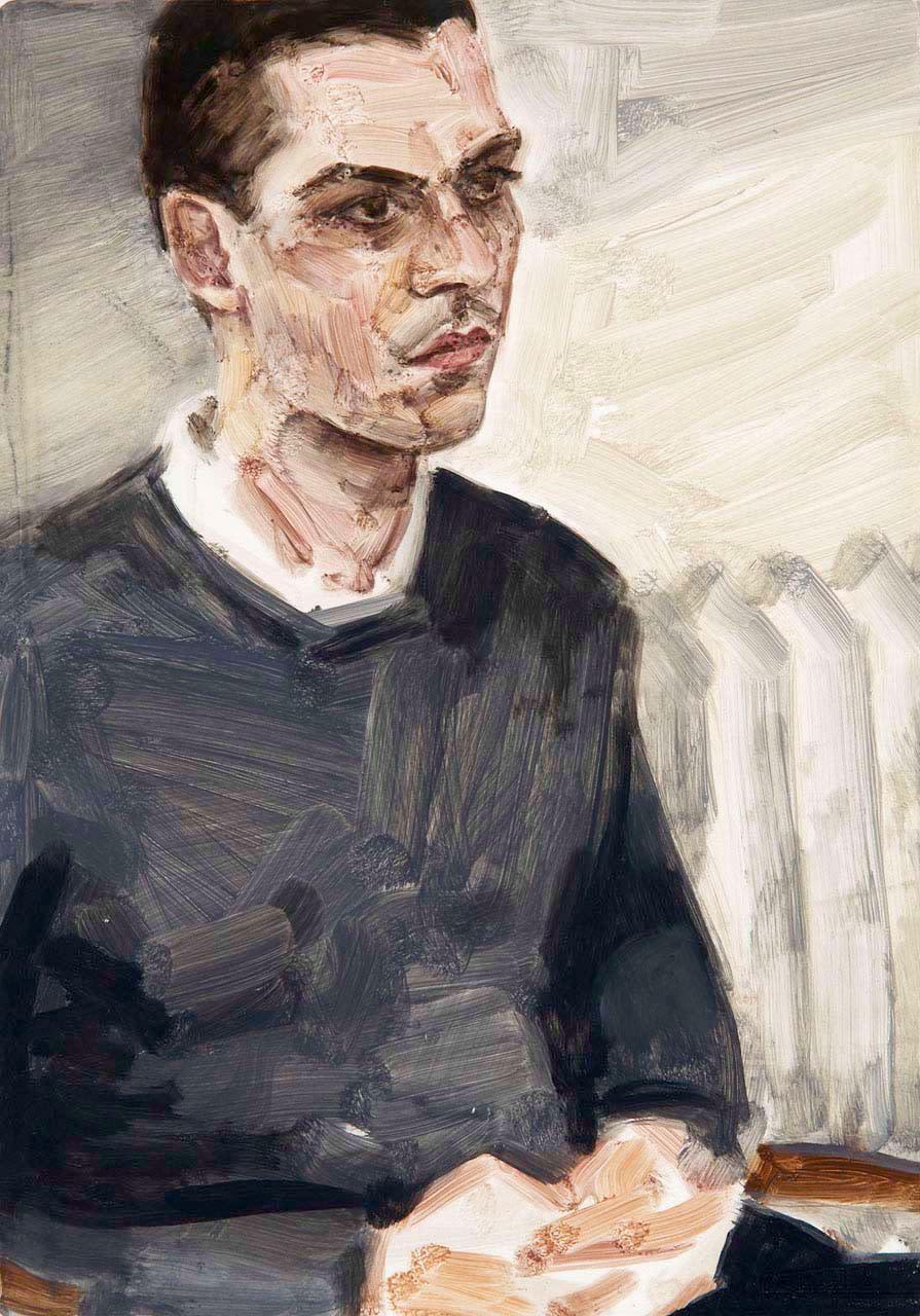 """<div class=""""artwork_caption""""><p>Massimiliano (Massimiliano Gioni), 2009</p></div>"""