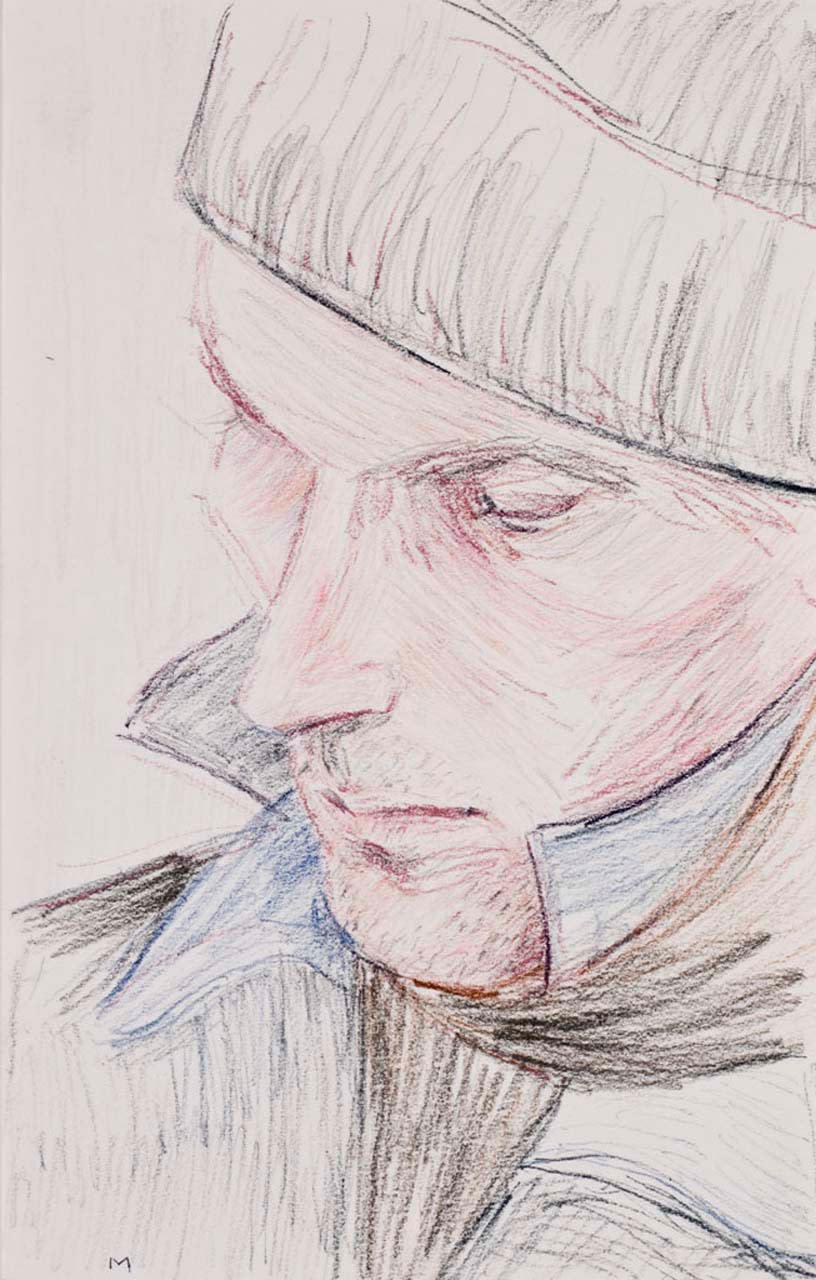 "<div class=""artwork_caption""><p>M (Matthew Barney), 2009</p></div>"