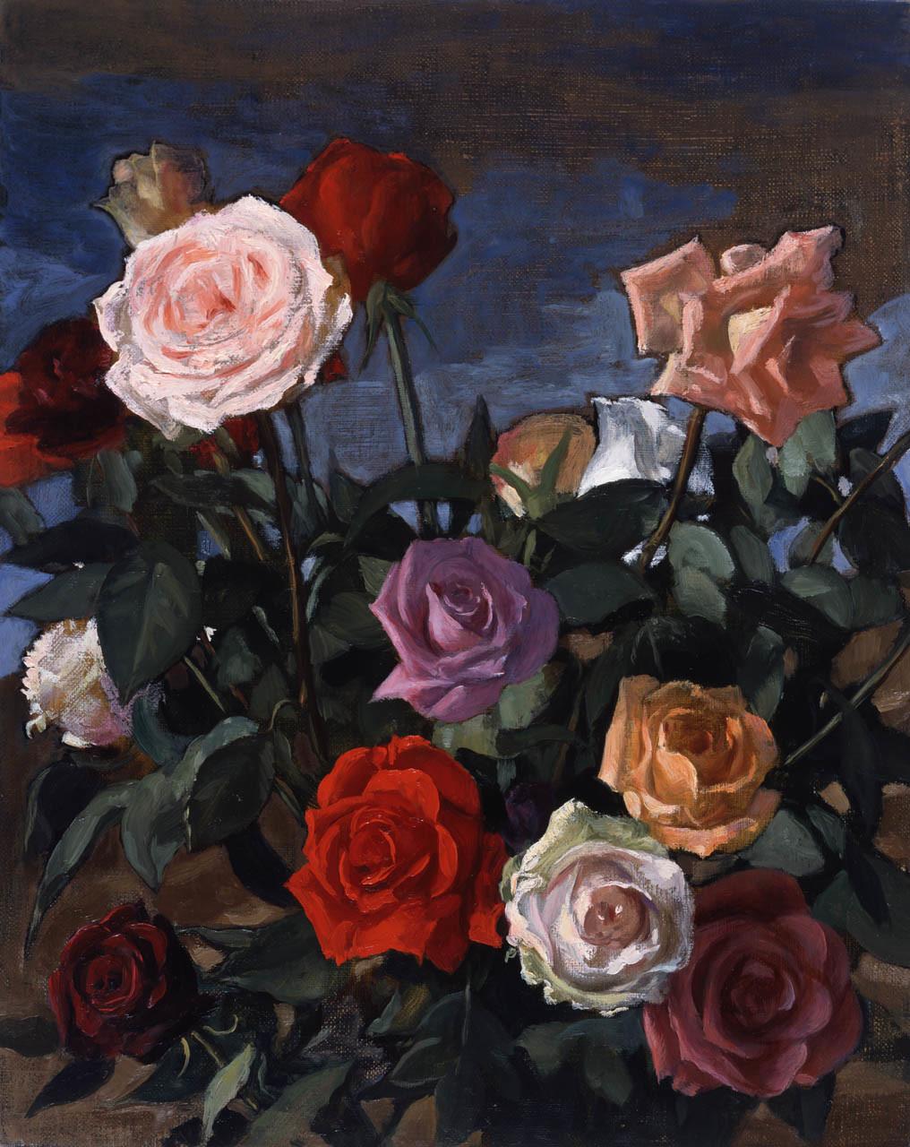 <p>Rosebush, 2003</p>