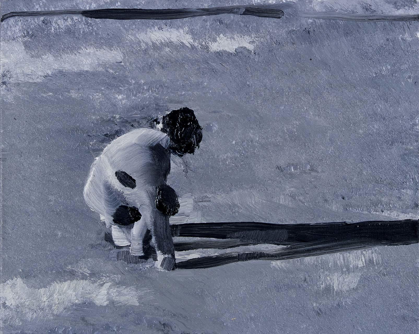 <p>Untitled (Wet Sand), 2003</p>