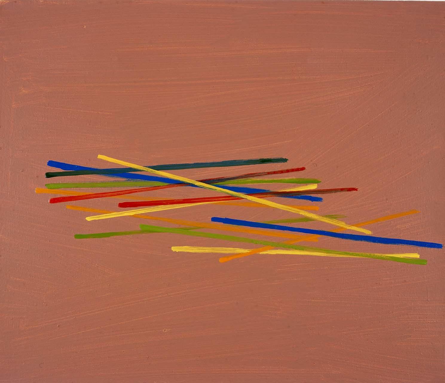 <p>Untitled (pick-up sticks), 2003</p>