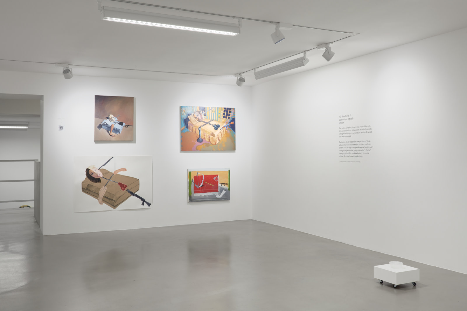 <p>Installation View, 2018<br />Photo by Robert Glowacki</p>