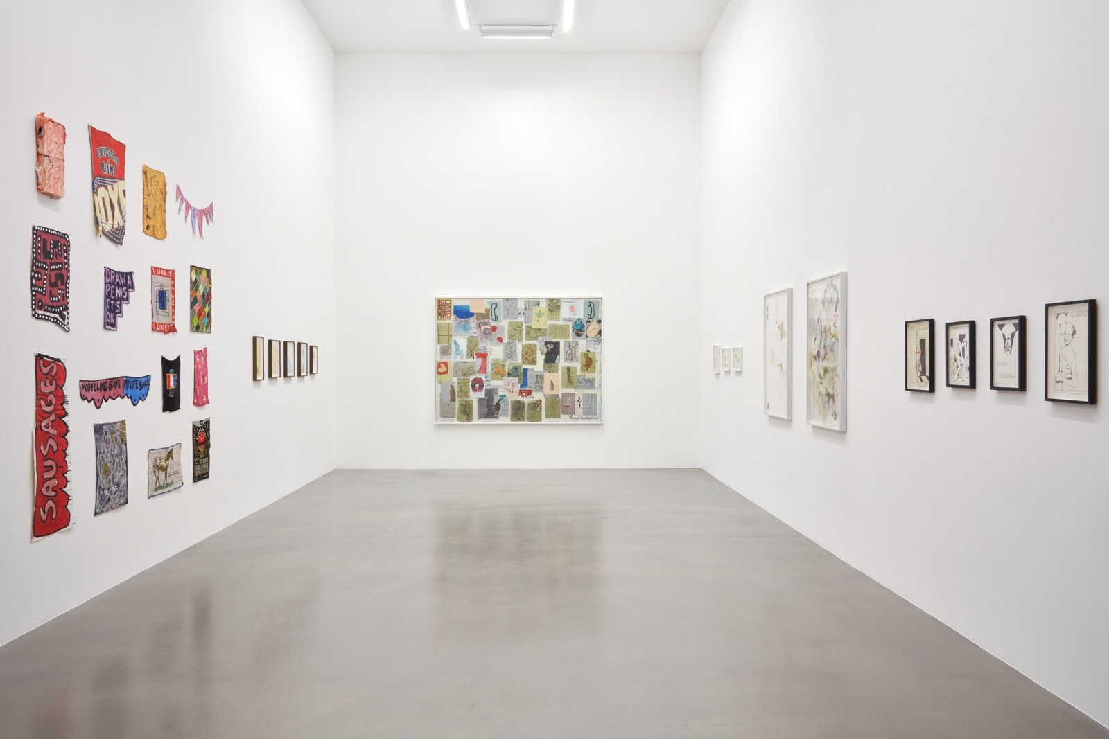 "<div class=""artwork_caption""><p><span class=""caption"">Installation View, 2017<br />Photo by Robert Glowacki</span> </p></div>"