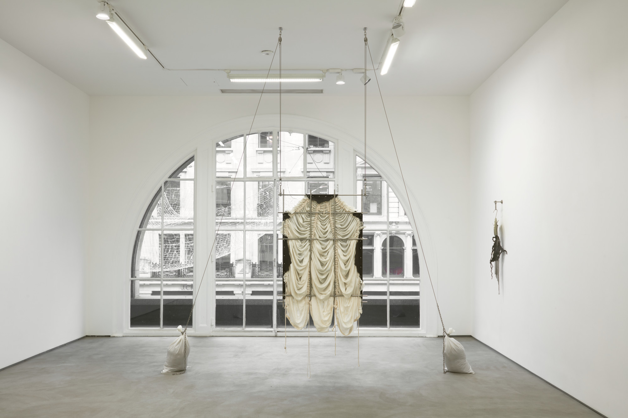 <p>Installation view, JTT, Elaine Cameron-Weir, 62 Kingly Street, 2019<br />Photo by Robert Glowacki</p>