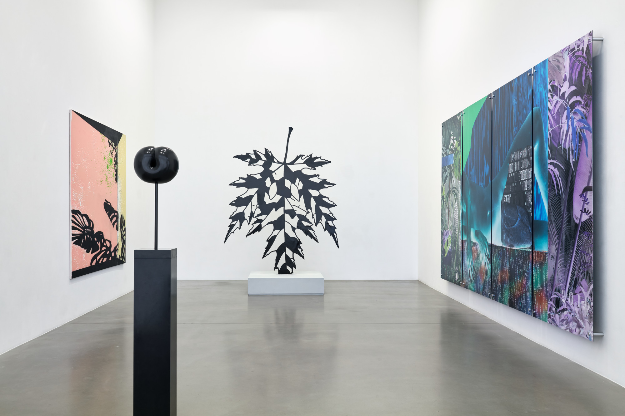 "<div class=""artwork_caption""><p>Installation view, 2019</p><p><span>Photo by Robert Glowacki</span></p></div>"