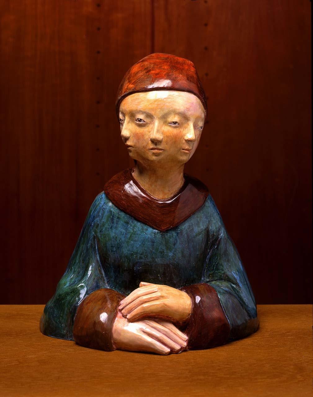 """<div class=""""artwork_caption""""><p>Dreigesichtfrau, 2005</p></div>"""