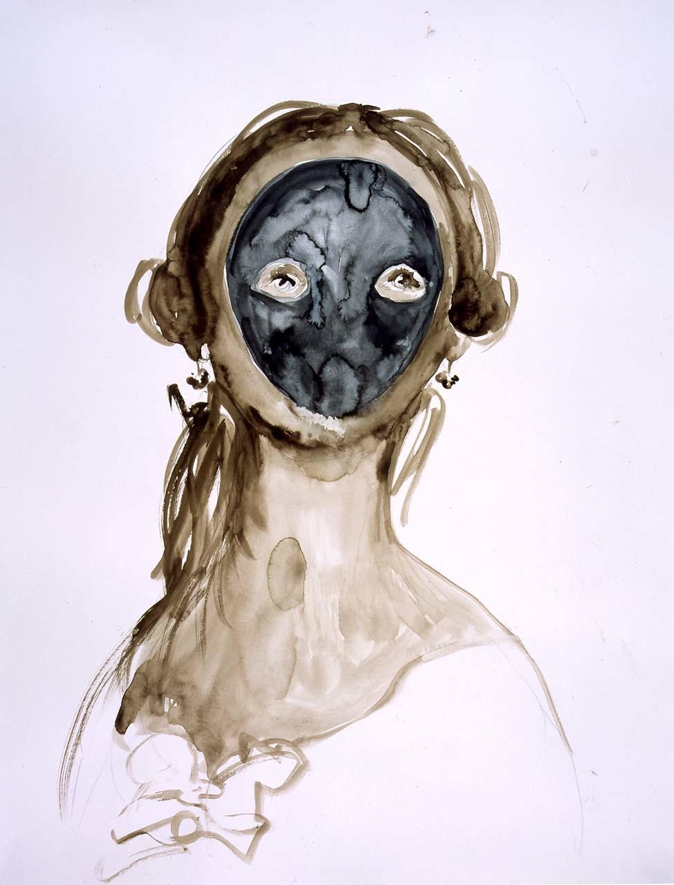 """<div class=""""artwork_caption""""><p>Woman Masked, 2003</p></div>"""