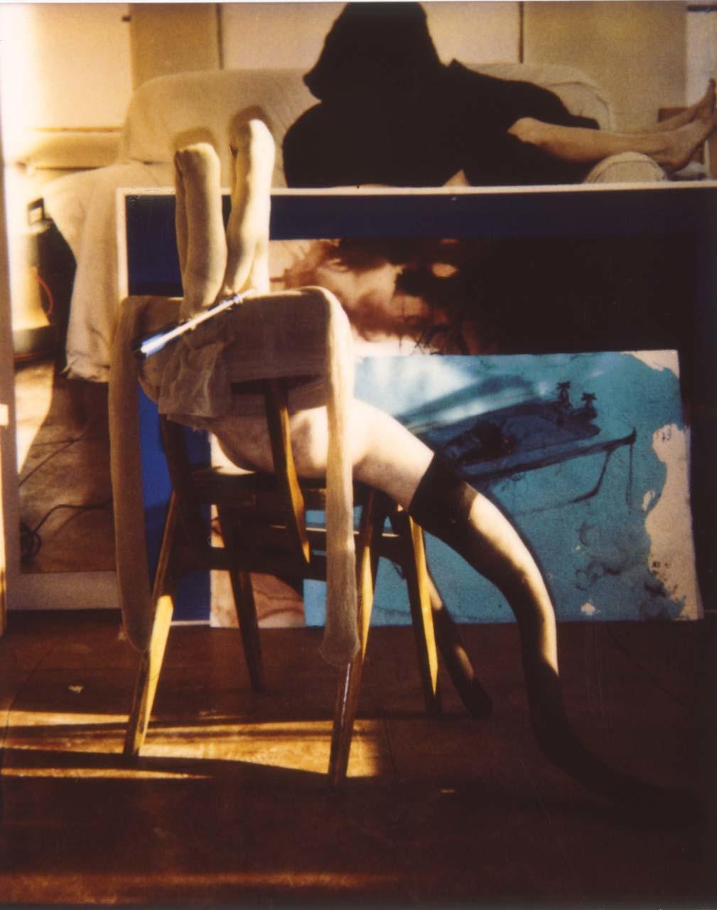 <p>Polaroid Bunny #4, 1997</p>