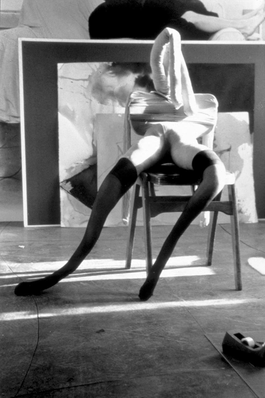 <p>Black and White Bunny #2, 1997</p>
