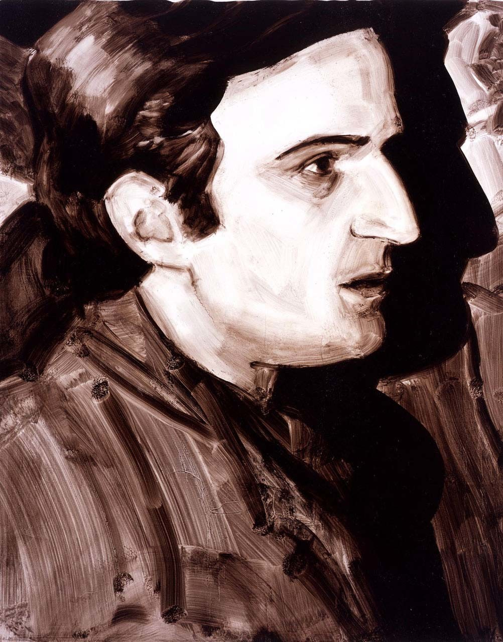 "<div class=""artwork_caption""><p>Truffaut at the Cinematheque 1968 (François Truffaut), 2005</p></div>"