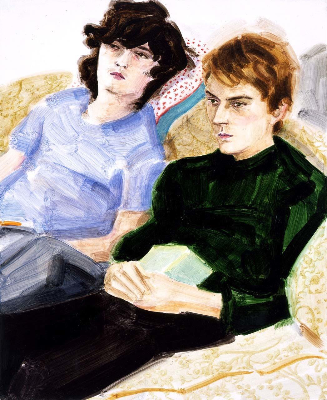 """<div class=""""artwork_caption""""><p>Ken and Nick, 2005</p></div>"""