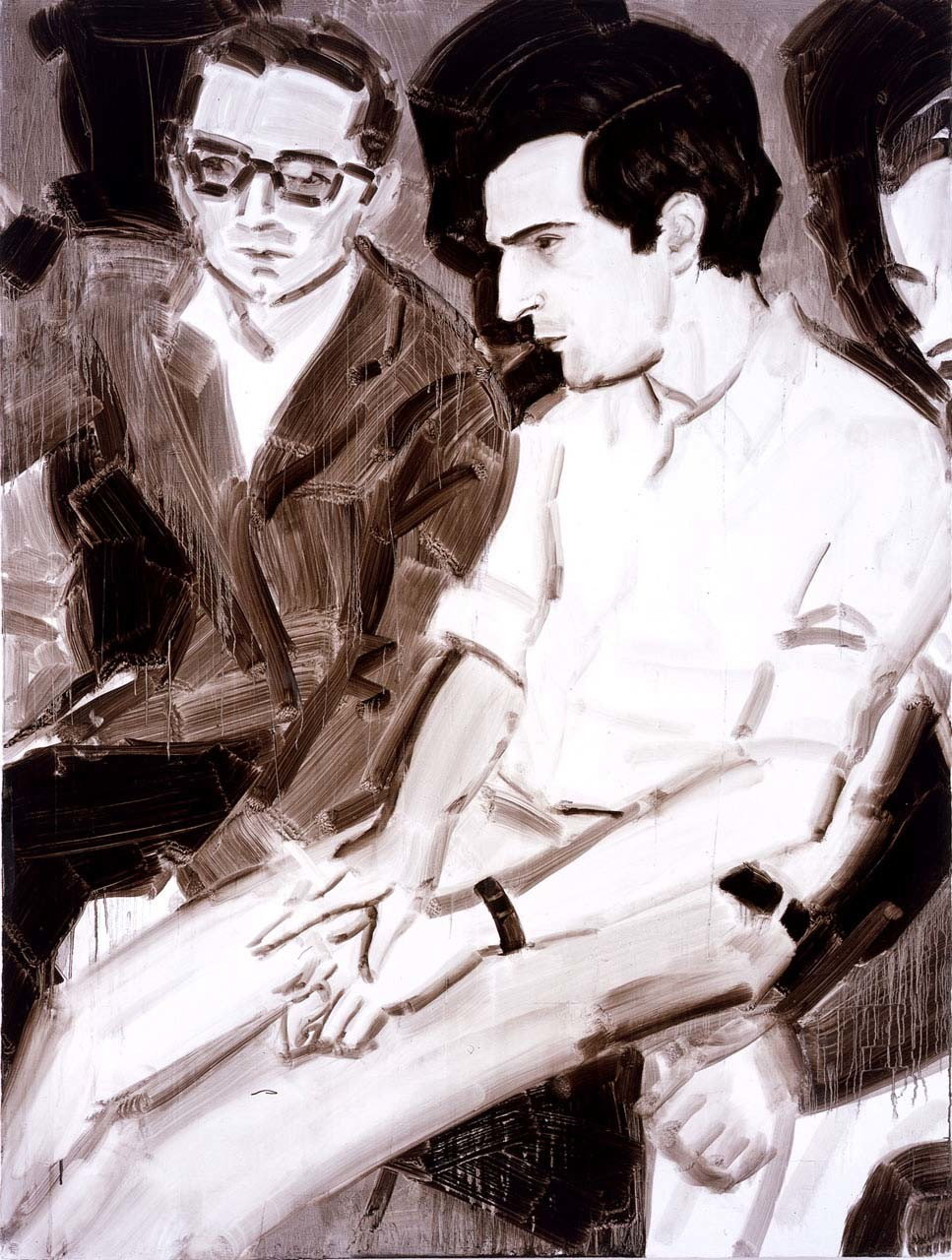 "<div class=""artwork_caption""><p>Truffaut at the Cannes Film Festival 1968, 2005</p></div>"