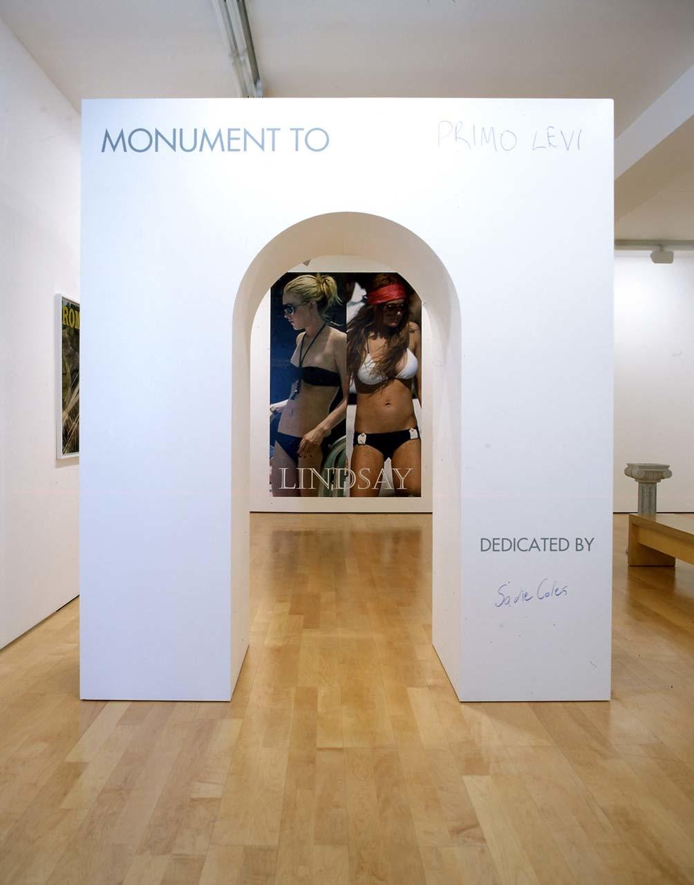 "<div class=""artwork_caption""><p>Two Sided Monument, 2006</p></div>"