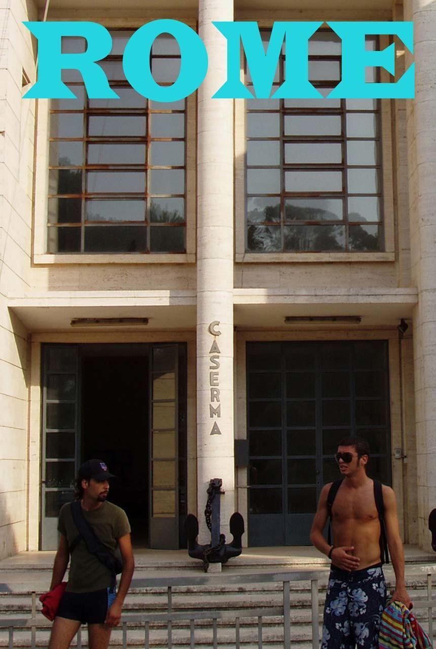 """<div class=""""artwork_caption""""><p>Rome Travel Poster IX, 2006</p></div>"""