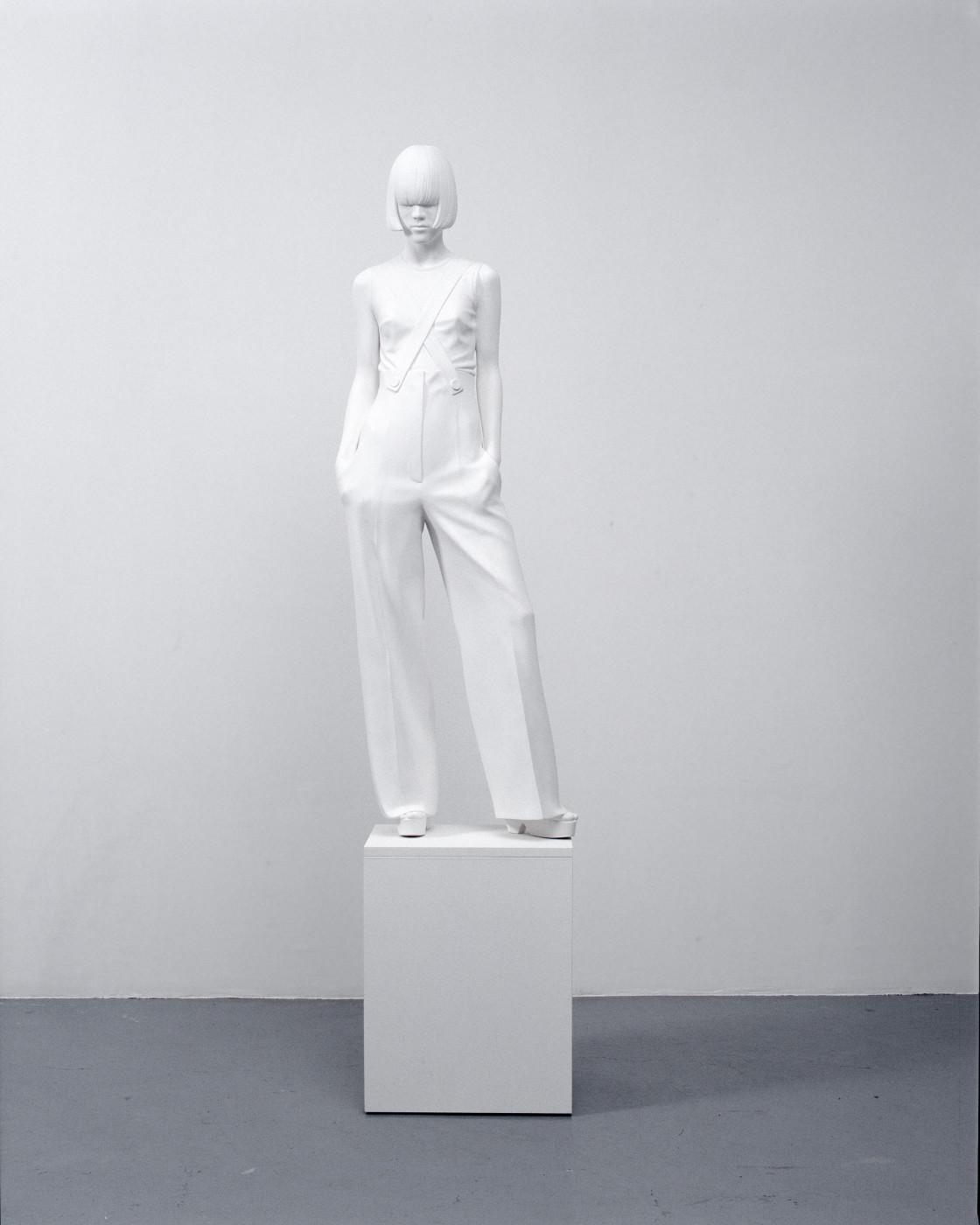 """<div class=""""artwork_caption""""><div class=""""title""""><em>Yoko XX</em>, 2007</div><div class=""""medium"""">acrylic composite, gesso, wood</div><div class=""""dimensions"""">137.0 x 45.0 x 30.0 cm<br />53 7/8 x 17 3/4 x 11 3/4 in.</div></div>"""