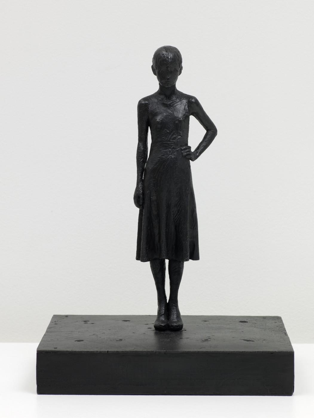"""<div class=""""artwork_caption""""><div class=""""title""""><em>Yoko (dress)</em>, 2008</div><div class=""""medium"""">bronze</div><div class=""""dimensions"""">34.93 x 20.0 x 24.77 cm<br />13 3/4 x 7 7/8 x 9 3/4 in.</div></div>"""