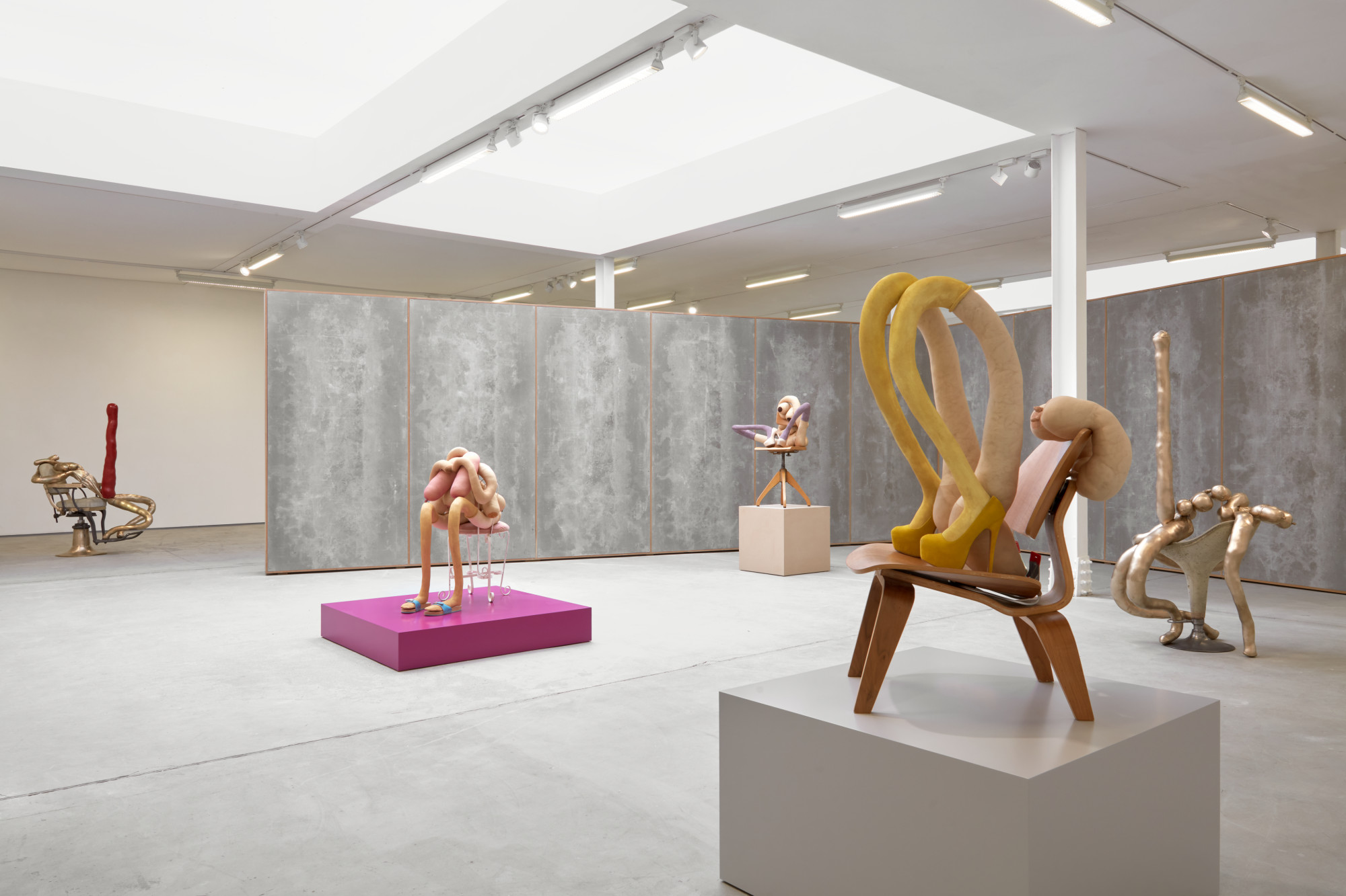 "<div class=""artwork_caption""><p>Installation view, Sarah Lucas, <em>HONEY PIE, </em>62 Kingly Street W1, 16 March - 08 August 2020</p><p>Photograophy by Robert Glowacki</p></div>"