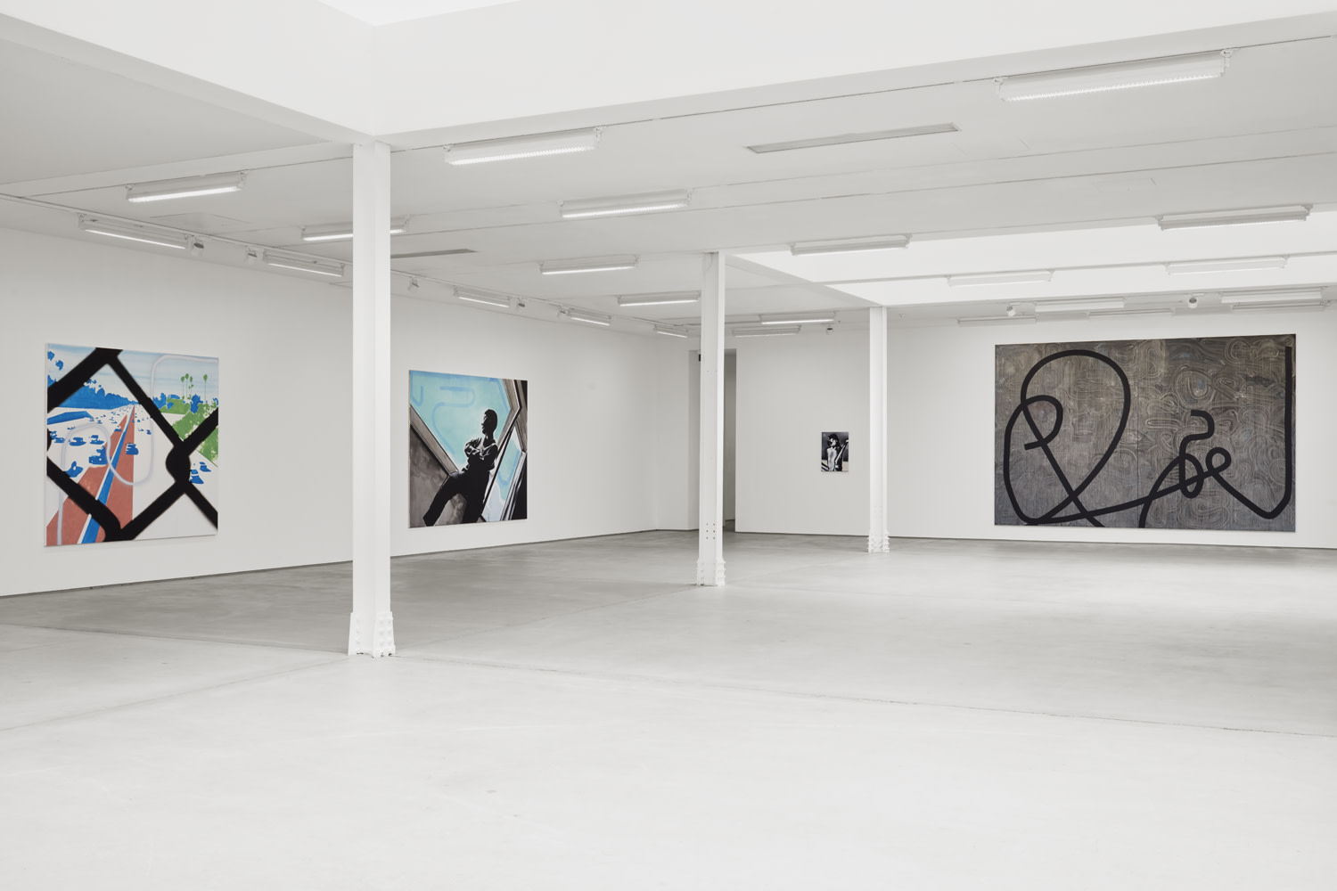 "<div class=""artwork_caption""><p>Installation view, Wilhelm Sasnal, 62 Kingly Street W1, 3 September - 17 October 2020</p><p>Photography by Robert Glowacki</p></div>"