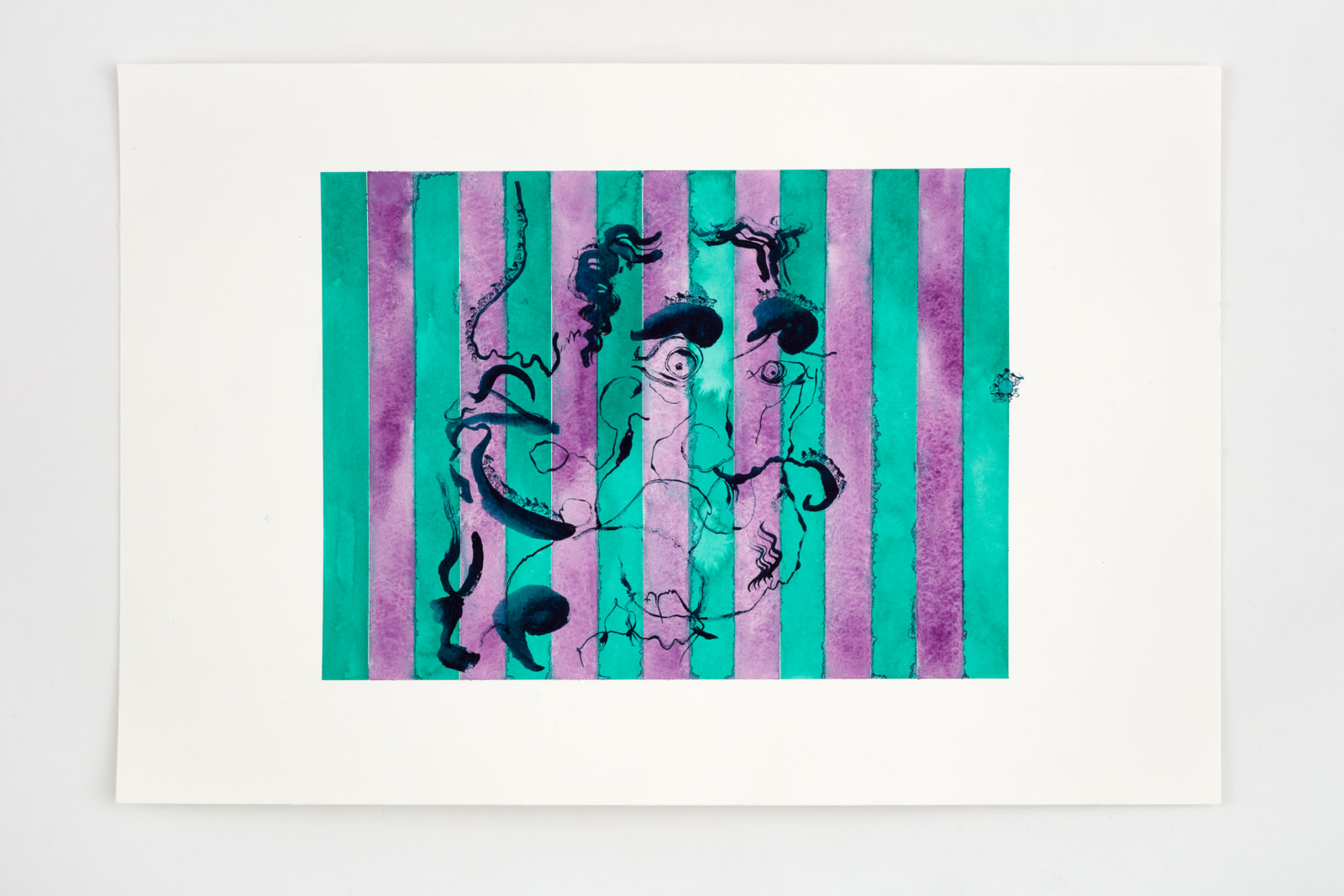 "<div class=""artwork_caption""><div class=""title""><em>Untitled</em>, 2020</div><div class=""medium"">watercolour on paper</div><div class=""dimensions"">site size: 30.4 x 45.4 cm / 12 x 17 ⅞ in<br />frame size: 34.1 x 46.4 x 2.5 cm / 13 ⅜ x 18 ¼ x 1 in</div></div><div class=""link""><span class=""website_contact_form"" data-contact-form-details=""Untitled , 2020  watercolour on paper  site size: 30.4 x 45.4 cm / 12 x 17 ⅞ in frame size: 34.1 x 46.4 x 2.5 cm / 13 ⅜ x 18 ¼ x 1 in"" data-contact-form-image=""https://artlogic-res.cloudinary.com/w_200,h_200,c_fill,f_auto,fl_lossy/ws-sadiecoles/usr/exhibitions/images/exhibitions/829/hq24-hm16776d-untitled_unframed.jpeg"">Enquire</span></div>"