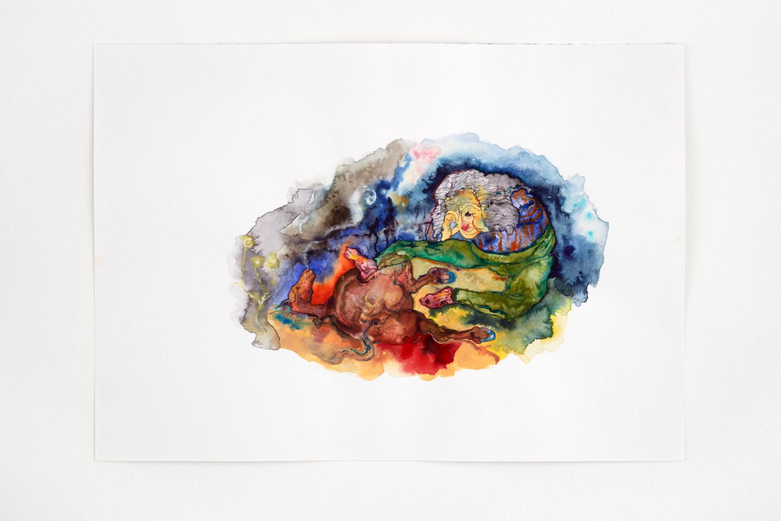 "<div class=""artwork_caption""><div class=""title""><em>Untitled</em>, 2020</div><div class=""medium"">watercolour on paper</div><div class=""dimensions"">site size: 30.4 x 45.4 cm / 12 x 17 ⅞ in<br />frame size: 34.1 x 46.4 x 2.5 cm / 13 ⅜ x 18 ¼ x 1 in</div></div><div class=""link""><span class=""website_contact_form"" data-contact-form-details=""Untitled , 2020  watercolour on paper  site size: 30.4 x 45.4 cm / 12 x 17 ⅞ in frame size: 34.1 x 46.4 x 2.5 cm / 13 ⅜ x 18 ¼ x 1 in"" data-contact-form-image=""https://artlogic-res.cloudinary.com/w_200,h_200,c_fill,f_auto,fl_lossy/ws-sadiecoles/usr/exhibitions/images/exhibitions/829/hq24-hm16785d-untitled_unframed.jpeg"">Enquire</span></div>"
