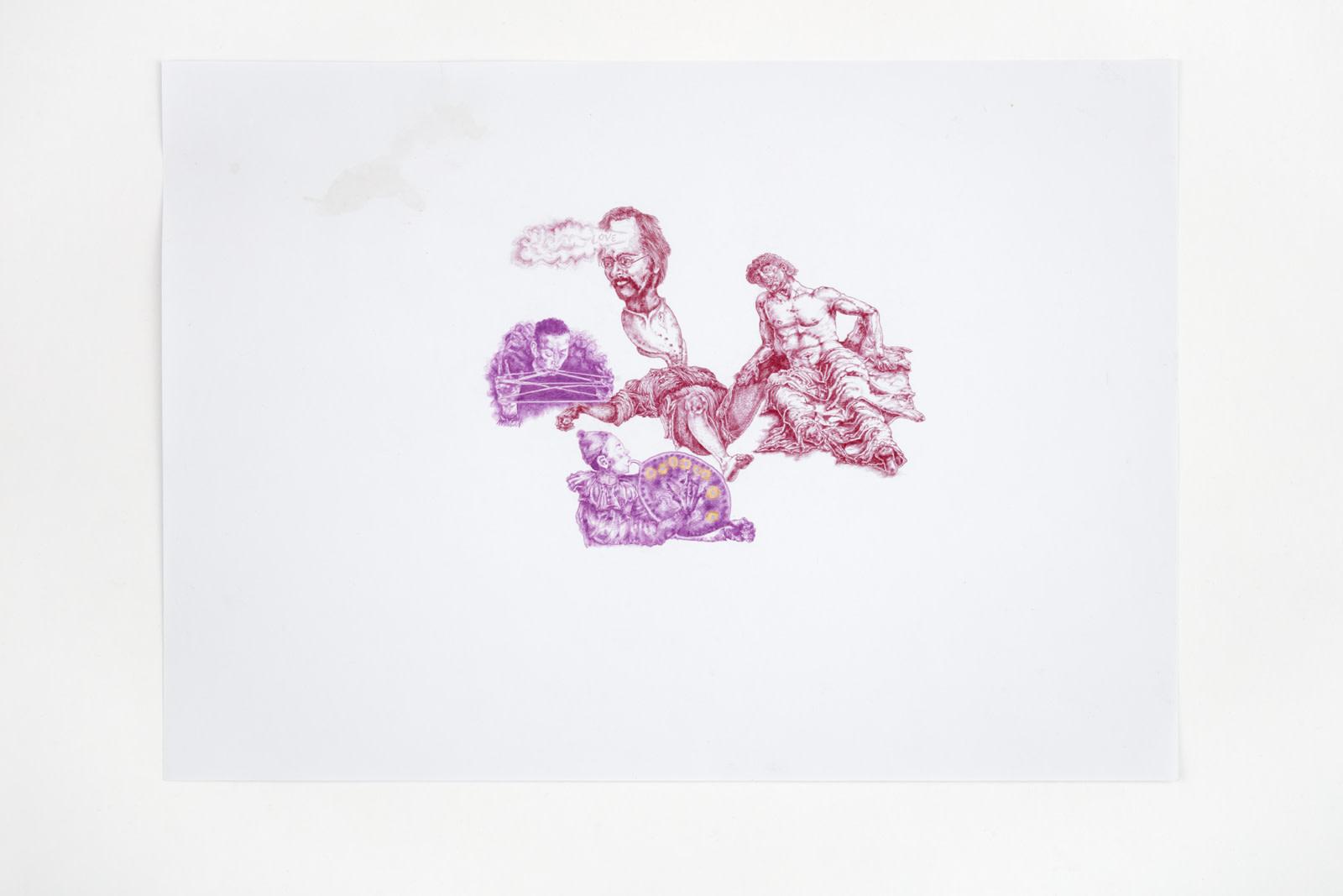 "<div class=""artwork_caption""><div class=""title""><em>Untitled</em>, 2020</div><div class=""medium"">coloured pencil on paper</div><div class=""dimensions"">site size: 30.4 x 45.4 cm / 12 x 17 ⅞ in<br />frame size: 34.1 x 46.4 x 2.5 cm / 13 ⅜ x 18 ¼ x 1 in</div></div><div class=""link""><span class=""website_contact_form"" data-contact-form-details=""Untitled , 2020  coloured pencil on paper  site size: 30.4 x 45.4 cm / 12 x 17 ⅞ in frame size: 34.1 x 46.4 x 2.5 cm / 13 ⅜ x 18 ¼ x 1 in"" data-contact-form-image=""https://artlogic-res.cloudinary.com/w_200,h_200,c_fill,f_auto,fl_lossy/ws-sadiecoles/usr/exhibitions/images/exhibitions/829/hq24-hm16790d-untitled_unframed.jpeg"">Enquire</span></div>"