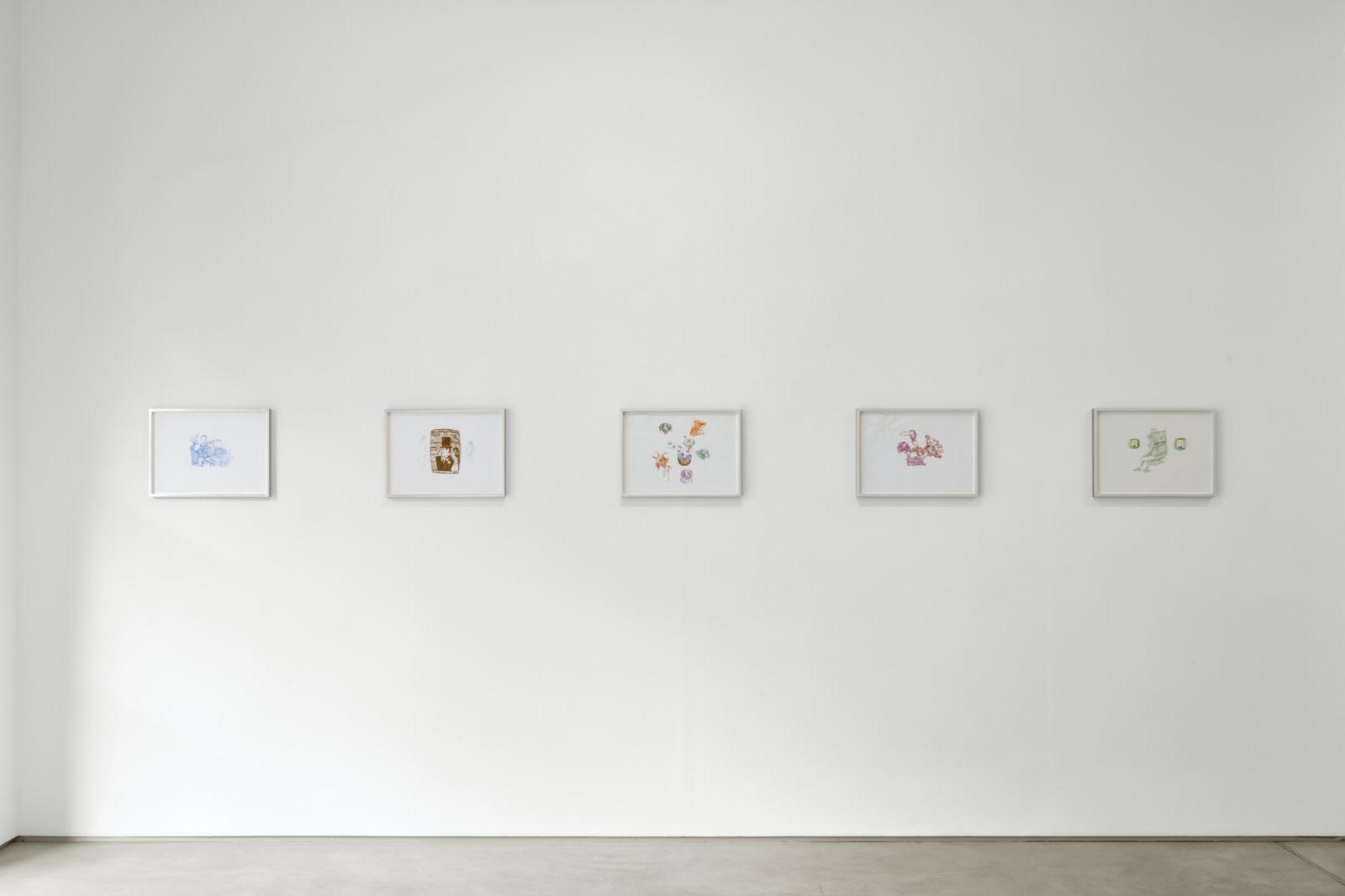 """<div class=""""artwork_caption""""><p>Installation view, Helen Marten, Viewing room, 62 Kingly Street W1, 16 September - 17 October 2020</p><p>Photography by Robert Glowacki</p></div>"""