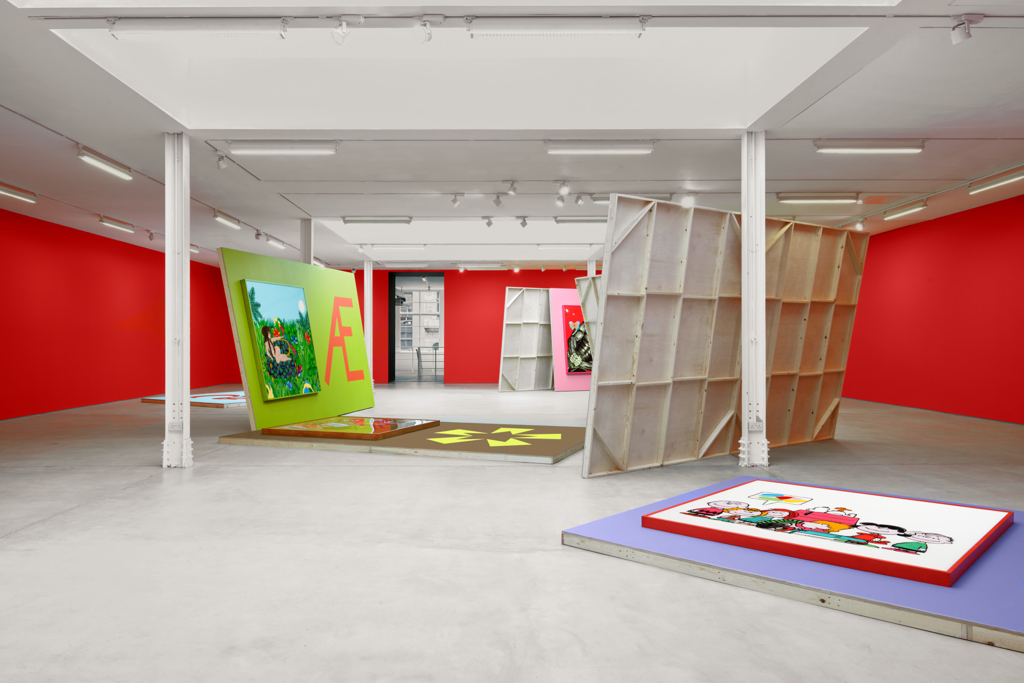 "<div class=""artwork_caption""><p>Installation view, Alex Da Corte, Sadie Coles HQ, 62 Kingly Street W1, 31 October - 13th January 2020</p><p>Photography by Robert Glowacki</p></div>"