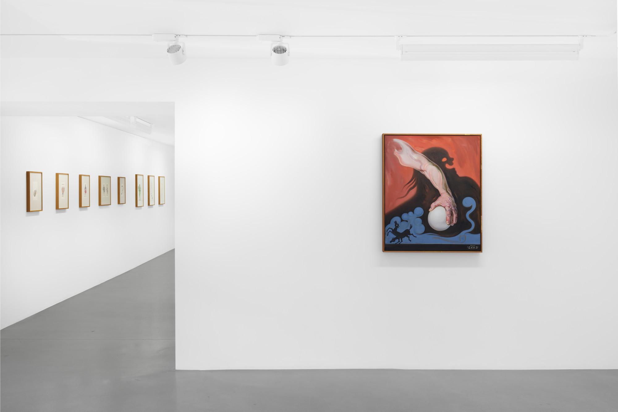"""<div class=""""artwork_caption""""><p>Installation view,<em>Bonnie Bonne Bon</em>,Sadie Coles HQ 1 Kingly Street, W1, on view</p><p>Photography byEva Herzog</p></div>"""