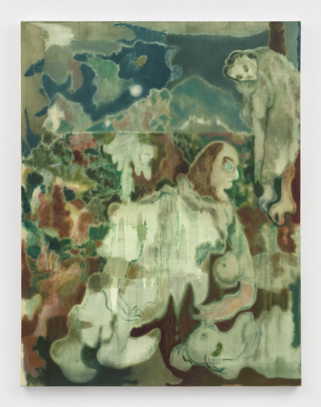 """<div class=""""artist""""><strong>Maja Ruznic</strong></div> <div class=""""title""""><em>Mokosh Nursing Jarilo and Morana</em>, 2018</div> <div class=""""medium"""">Oil on canvas</div> <div class=""""dimensions"""">198.1 x 152.4 cm<br /> 78 x 60 in</div>"""
