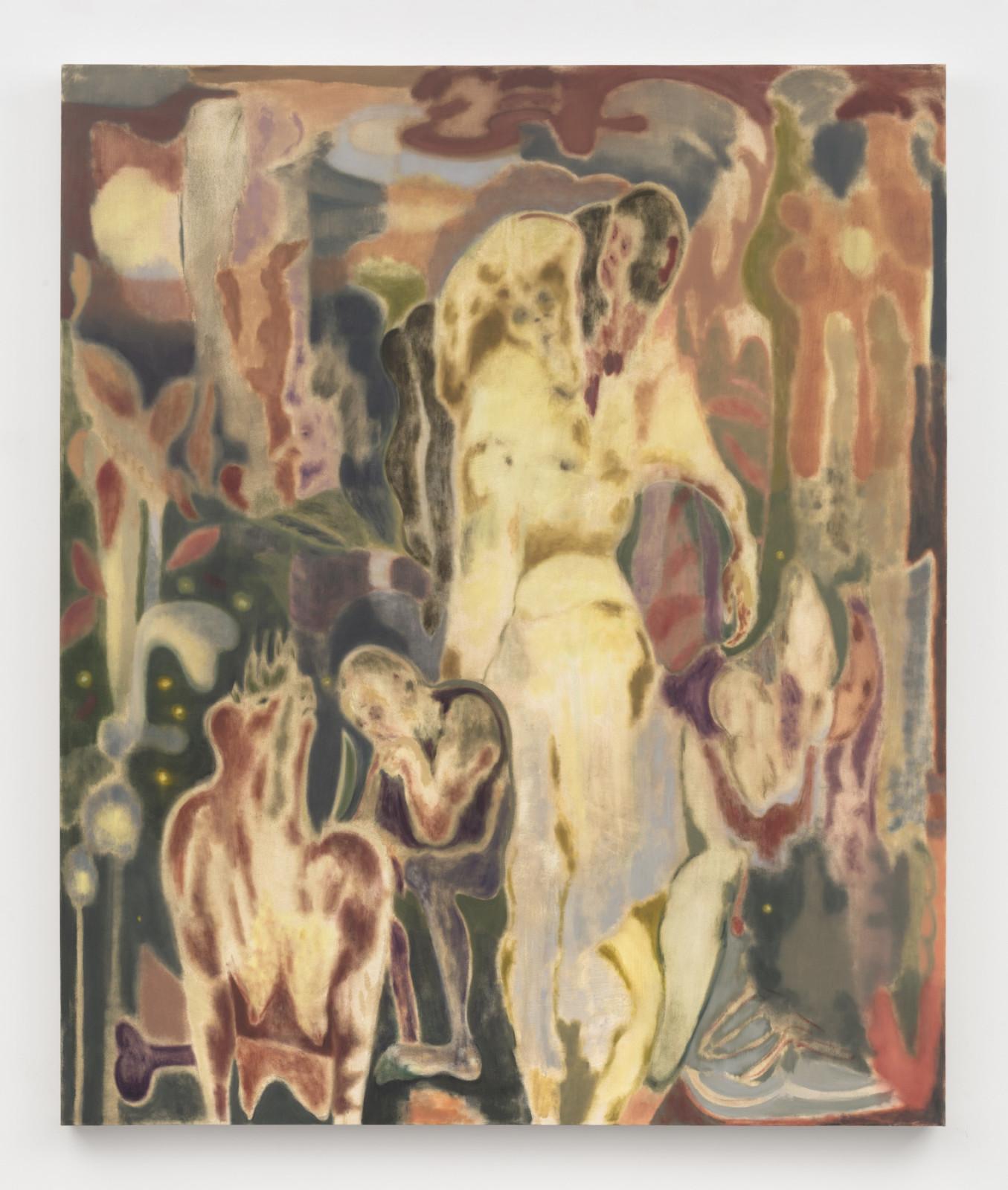 "<div class=""artist""><strong>Maja Ruznic</strong></div> <div class=""title""><em>The Help</em>, 2018</div> <div class=""medium"">Oil on canvas</div> <div class=""dimensions"">182.9 x 152.4 cm<br /> 72 x 60 in</div>"