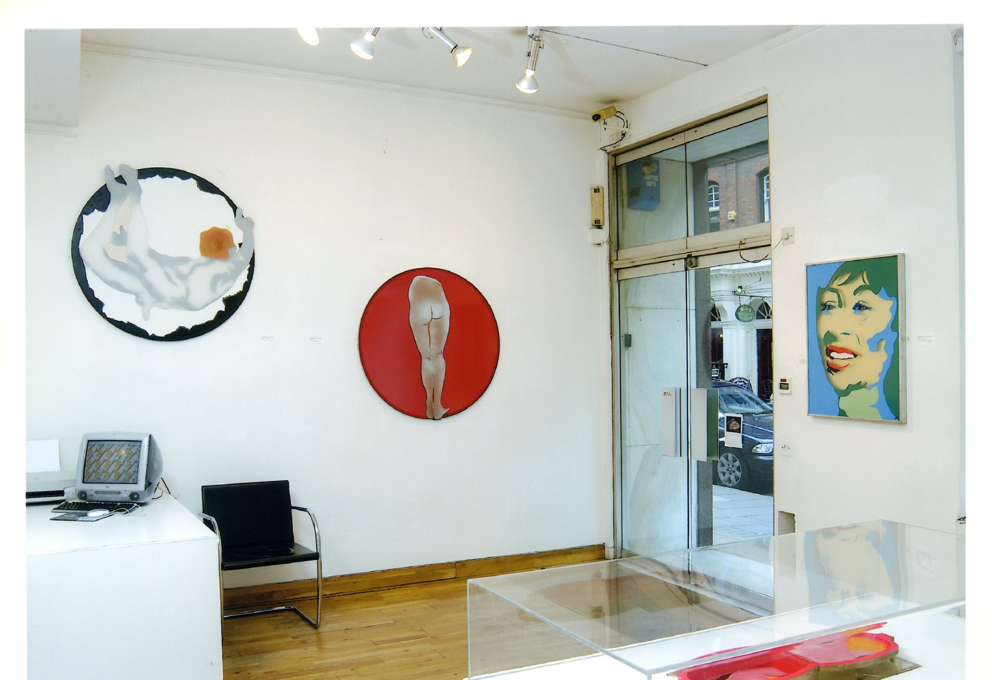 """<span class=""""link fancybox-details-link""""><a href=""""/exhibitions/119/works/image_standalone499/"""">View Detail Page</a></span><p>EVELYNE AXELL   FROM POP ART TO PARADISE   24 MAR - 4 JUL 2005   Installation View</p>"""