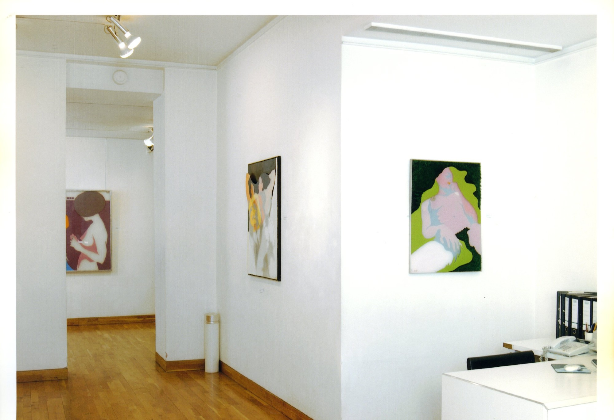 """<span class=""""link fancybox-details-link""""><a href=""""/exhibitions/119/works/image_standalone502/"""">View Detail Page</a></span><p>EVELYNE AXELL   FROM POP ART TO PARADISE   24 MAR - 4 JUL 2005   Installation View</p>"""
