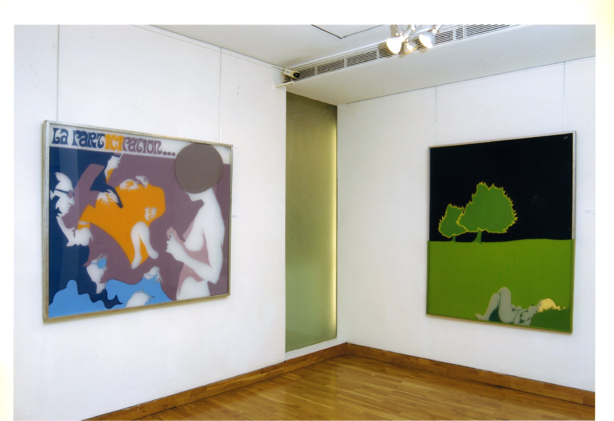 """<span class=""""link fancybox-details-link""""><a href=""""/exhibitions/119/works/image_standalone503/"""">View Detail Page</a></span><p>EVELYNE AXELL   FROM POP ART TO PARADISE   24 MAR - 4 JUL 2005   Installation View</p>"""