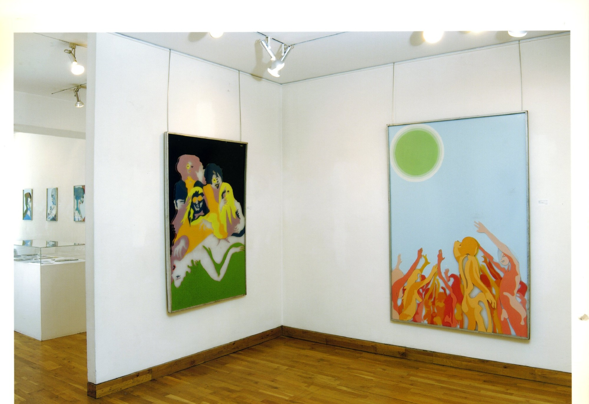 """<span class=""""link fancybox-details-link""""><a href=""""/exhibitions/119/works/image_standalone504/"""">View Detail Page</a></span><p>EVELYNE AXELL   FROM POP ART TO PARADISE   24 MAR - 4 JUL 2005   Installation View</p>"""