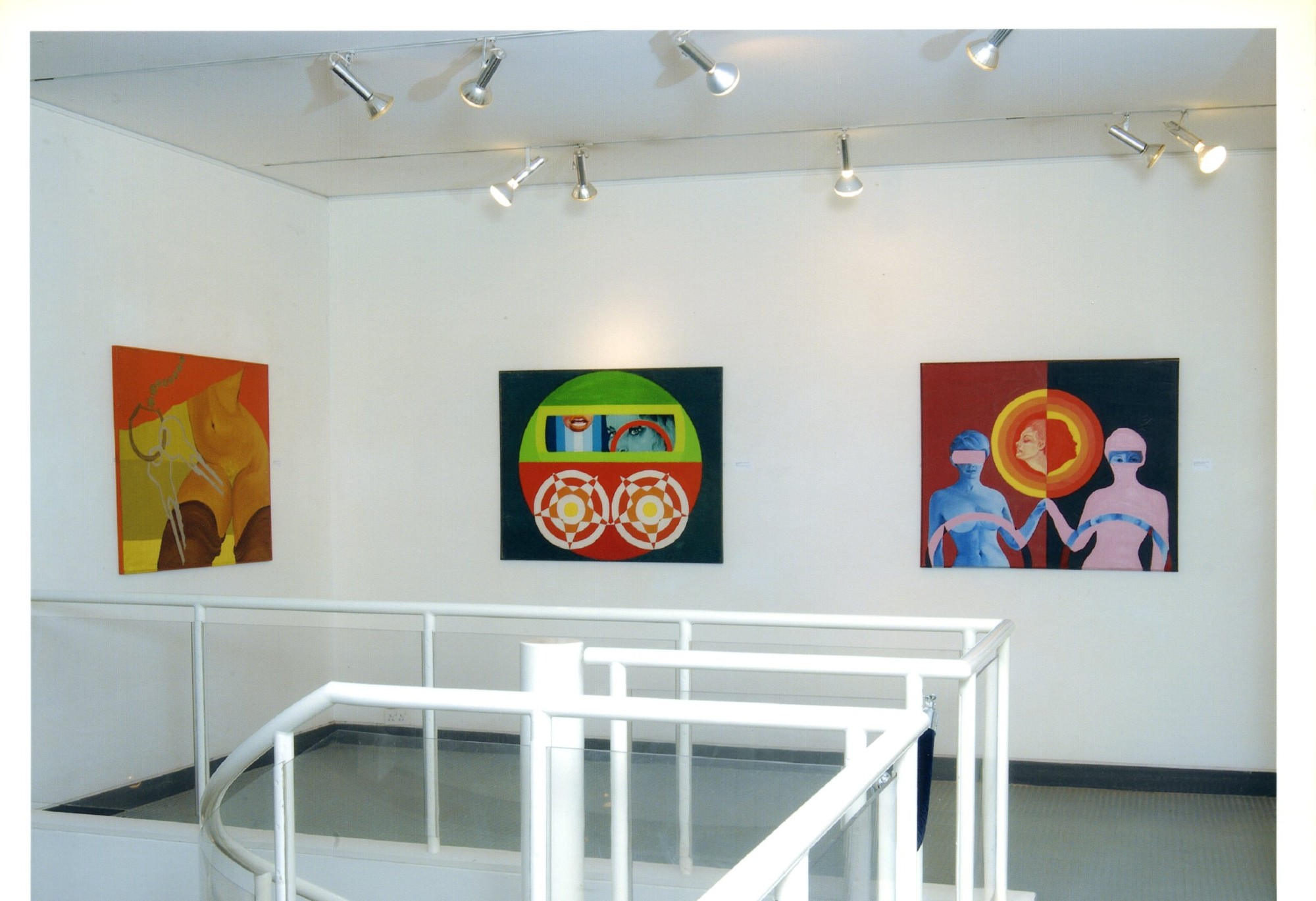 """<span class=""""link fancybox-details-link""""><a href=""""/exhibitions/119/works/image_standalone505/"""">View Detail Page</a></span><p>EVELYNE AXELL   FROM POP ART TO PARADISE   24 MAR - 4 JUL 2005   Installation View</p>"""