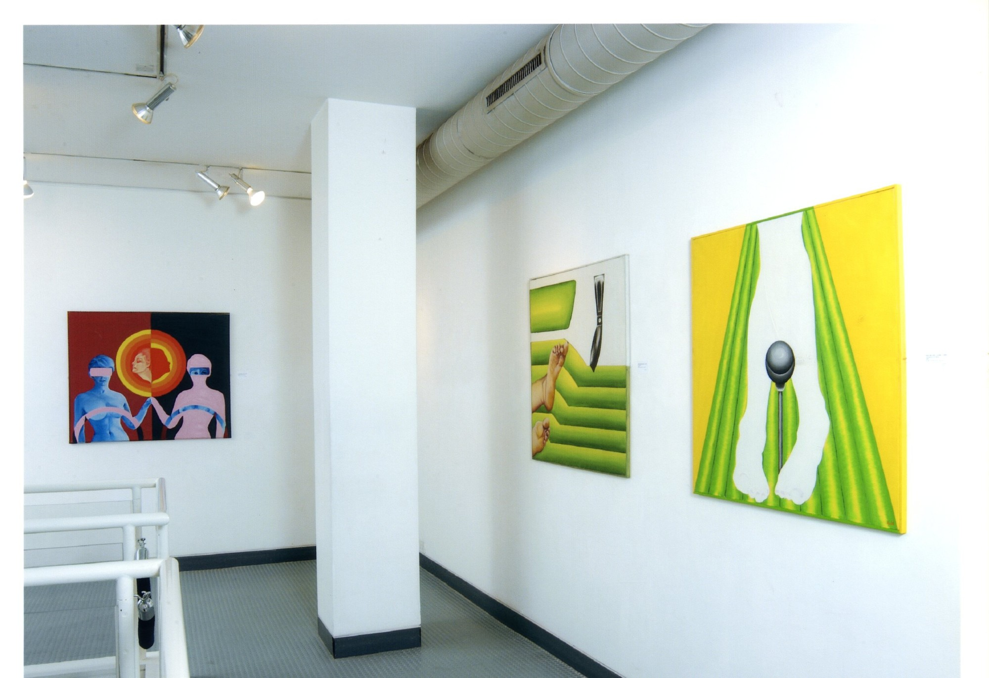 """<span class=""""link fancybox-details-link""""><a href=""""/exhibitions/119/works/image_standalone506/"""">View Detail Page</a></span><p>EVELYNE AXELL   FROM POP ART TO PARADISE   24 MAR - 4 JUL 2005   Installation View</p>"""