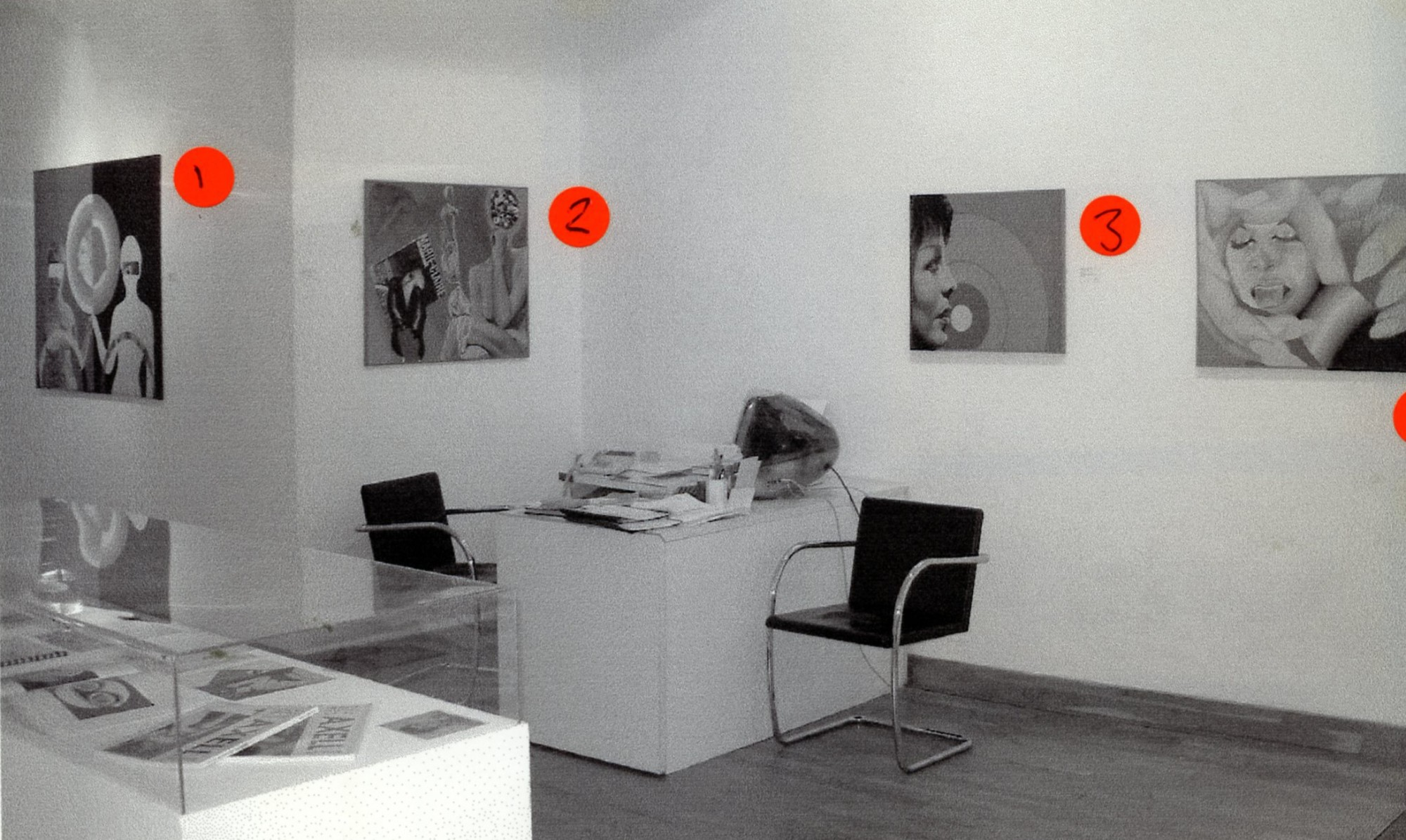 """<span class=""""link fancybox-details-link""""><a href=""""/exhibitions/131/works/image_standalone538/"""">View Detail Page</a></span><p>EVELYNE AXELL   EROTOMOBILES   05 JUN - 31 AUG 2003   Installation View</p>"""