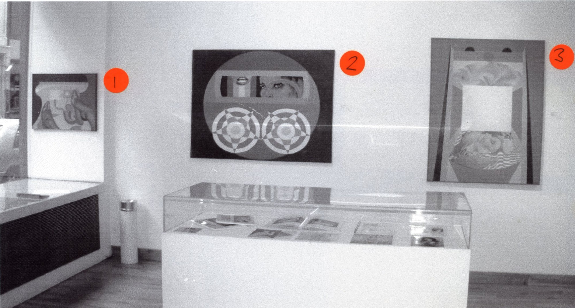 """<span class=""""link fancybox-details-link""""><a href=""""/exhibitions/131/works/image_standalone542/"""">View Detail Page</a></span><p>EVELYNE AXELL   EROTOMOBILES   05 JUN - 31 AUG 2003   Installation View</p>"""
