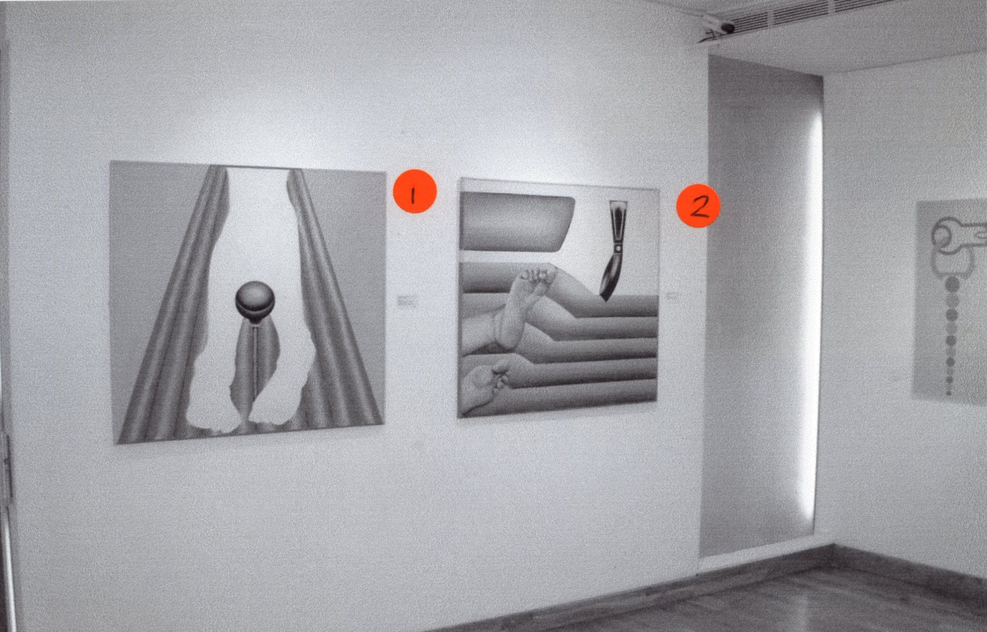 """<span class=""""link fancybox-details-link""""><a href=""""/exhibitions/131/works/image_standalone543/"""">View Detail Page</a></span><p>EVELYNE AXELL   EROTOMOBILES   05 JUN - 31 AUG 2003   Installation View</p>"""