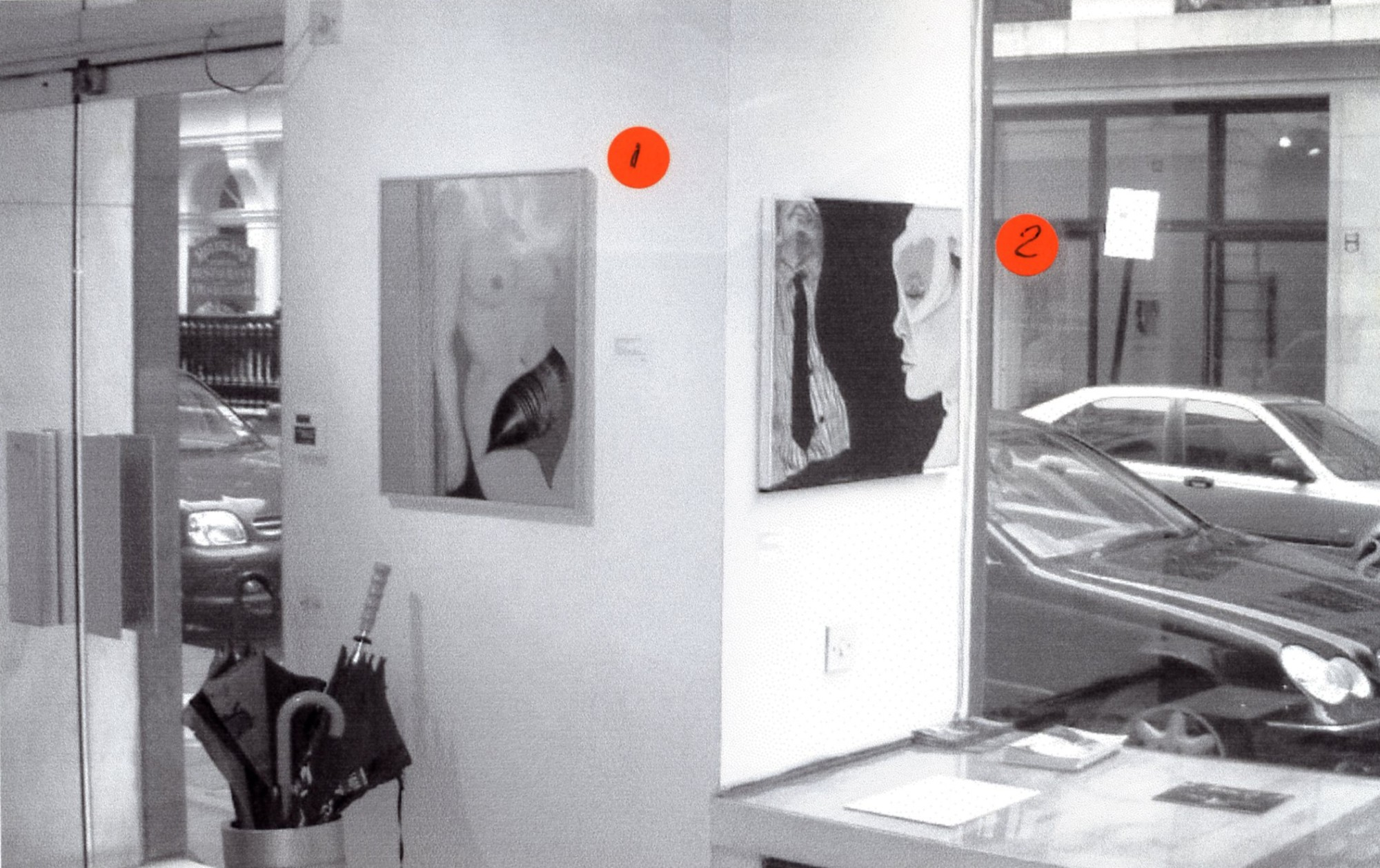 """<span class=""""link fancybox-details-link""""><a href=""""/exhibitions/131/works/image_standalone544/"""">View Detail Page</a></span><p>EVELYNE AXELL   EROTOMOBILES   05 JUN - 31 AUG 2003   Installation View</p>"""