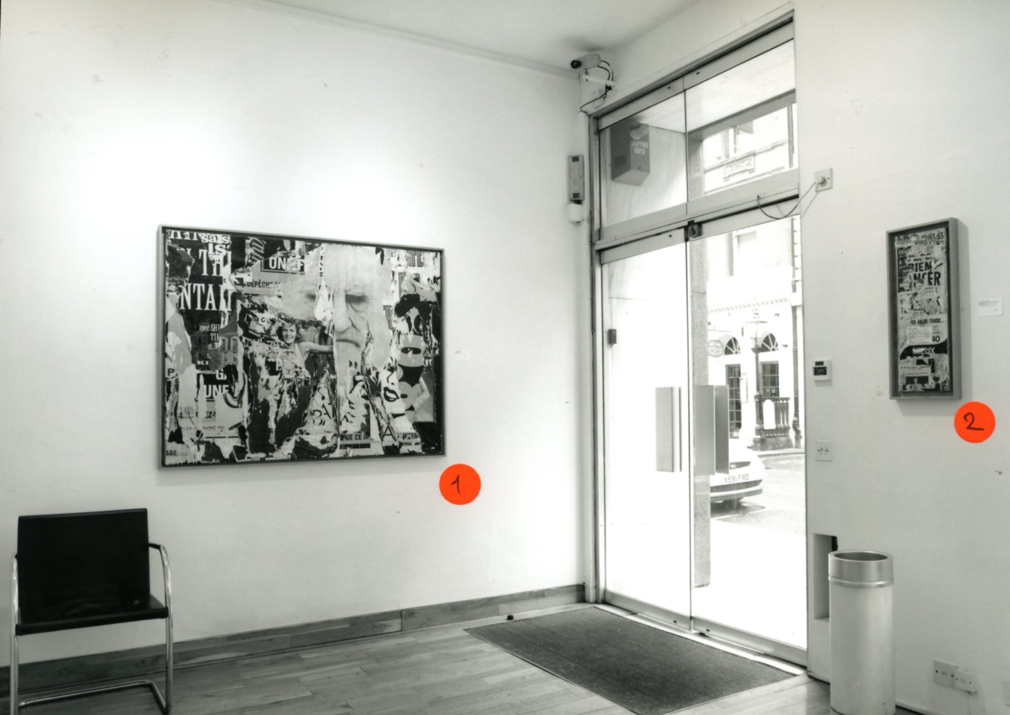 """<span class=""""link fancybox-details-link""""><a href=""""/exhibitions/147/works/image_standalone605/"""">View Detail Page</a></span><p>JACQUES VILLEGLE WORKS FROM 1955 - 1991 
