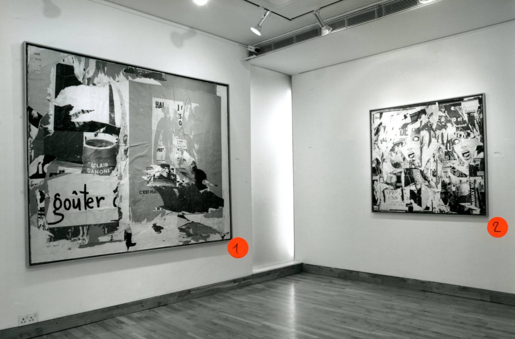 """<span class=""""link fancybox-details-link""""><a href=""""/exhibitions/147/works/image_standalone609/"""">View Detail Page</a></span><p>JACQUES VILLEGLE WORKS FROM 1955 - 1991 