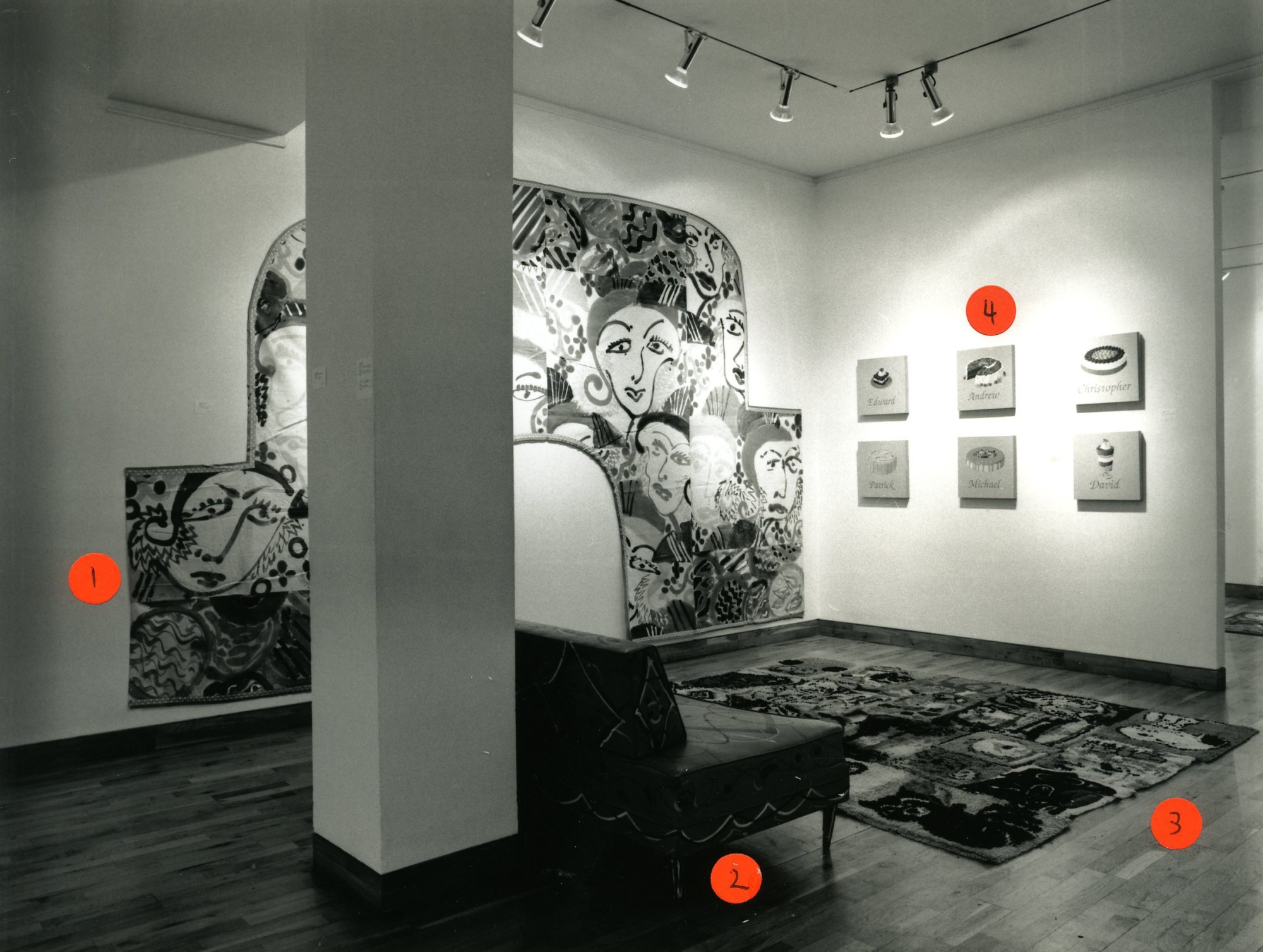 """<span class=""""link fancybox-details-link""""><a href=""""/exhibitions/153/works/image_standalone654/"""">View Detail Page</a></span><p>HOLLYBURY USA   A REFLECTION ON BLOOMSBURY   23 NOV - 23 DEC 1999   Installation View</p>"""