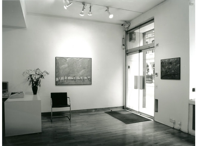 """<span class=""""link fancybox-details-link""""><a href=""""/exhibitions/182/works/image_standalone830/"""">View Detail Page</a></span><p>JOHN D. EDWARDS   RECENT WORK   14 SEP - 27 OCT 1995   Installation View</p>"""