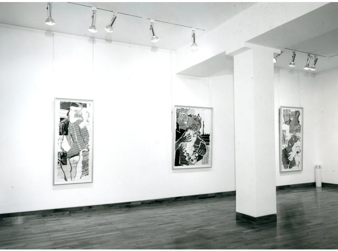 """<span class=""""link fancybox-details-link""""><a href=""""/exhibitions/254/works/image_standalone1313/"""">View Detail Page</a></span><p>ROBERT KUSHNER   RECENT PAINTINGS   18 SEP - 26 OCT 1985   Installation View</p>"""