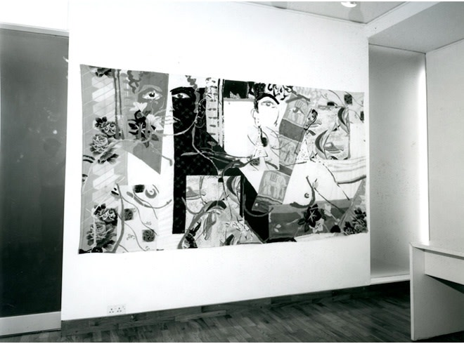 """<span class=""""link fancybox-details-link""""><a href=""""/exhibitions/254/works/image_standalone1314/"""">View Detail Page</a></span><p>ROBERT KUSHNER   RECENT PAINTINGS   18 SEP - 26 OCT 1985   Installation View</p>"""