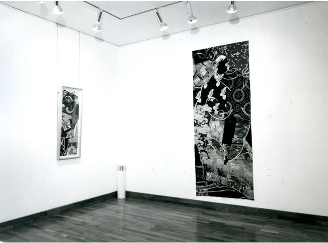 """<span class=""""link fancybox-details-link""""><a href=""""/exhibitions/254/works/image_standalone1315/"""">View Detail Page</a></span><p>ROBERT KUSHNER   RECENT PAINTINGS   18 SEP - 26 OCT 1985   Installation View</p>"""